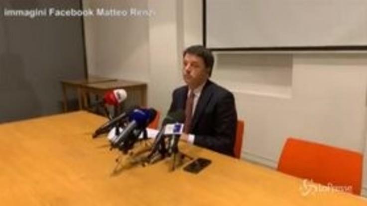 """Inchiesta Open, Renzi: """"Ferita al gioco democratico"""""""