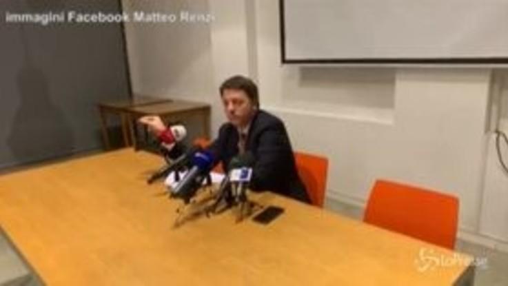 """Inchiesta Open, Renzi: """"In gioco separazione dei poteri"""""""