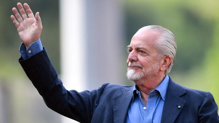 """Napoli, il tweet di De Laurentiis: """"Bravi Ancelotti e i giocatori, contro chi gufa"""""""