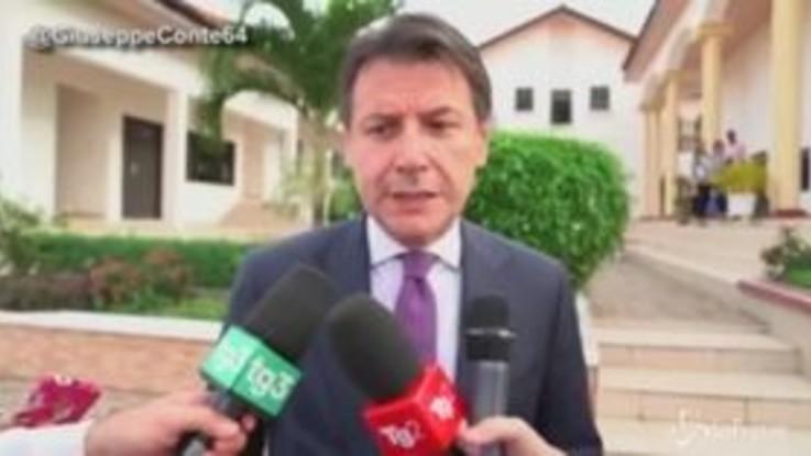 """Mes, Conte a Salvini: """"Se è un uomo d'onore presenti l'esposto, lo querelerò per calunnia"""""""