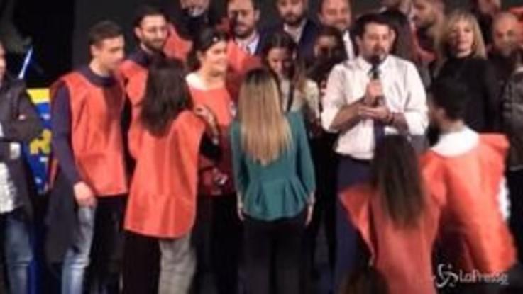 """Salvini: """"Conte mi querela? Si metta in fila, prima Carola e la Cucchi"""""""