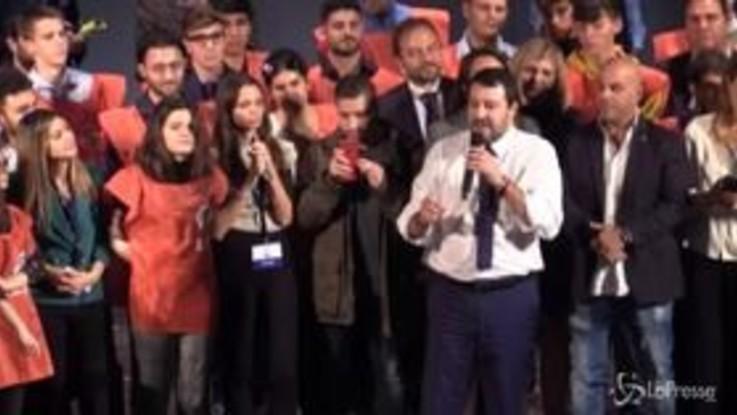 """Salvini a Roma: """"È chiaro che vinceremo le prossime elezioni"""""""