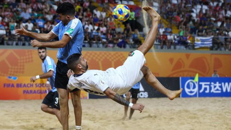 Mondiali Beach Soccer, Zurlo rovescia la Svizzera: Italia in semifinale
