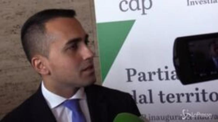 """Regionali Campania, Di Maio: """"Quello che è certo è che con De Luca non è nemmeno ipotizzabile"""""""