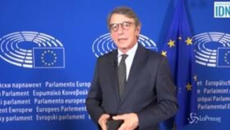 """Ex Ilva, Sassoli: """"Se si spegnessero i forni? Ci sono fondi europei per le crisi prodotte dalla globalizzazione"""""""