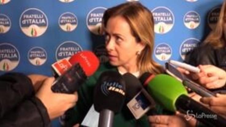 """Meloni: """"Il Mes una fregatura, mi aspetto che Conte venga a chiarire in Parlamento"""""""
