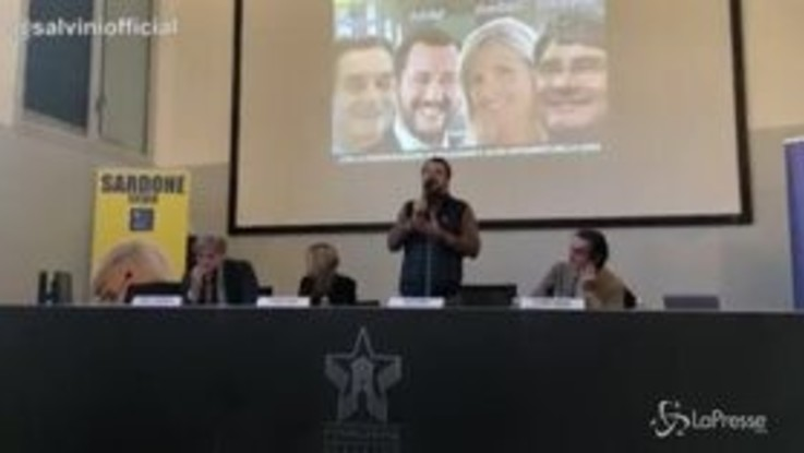"""Mes, Salvini: """"Lunedì Conte spieghi se ha svenduto risparmi italiani"""""""