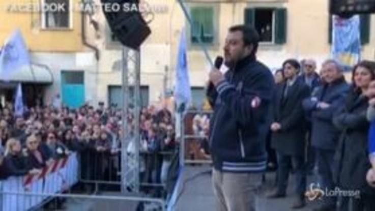 """Salva-stati, Salvini: """"Conte si dimetta"""""""