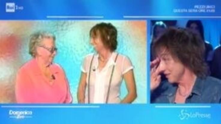 Domenica In: Gianna Nannini si commuove da Mara Venier ricordando la madre