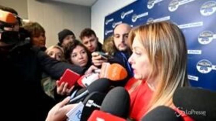 """Salva-Stati, Meloni: """"Il governo dovrebbe cadere sul Mes se Di Maio avesse un briciolo di dignità"""""""
