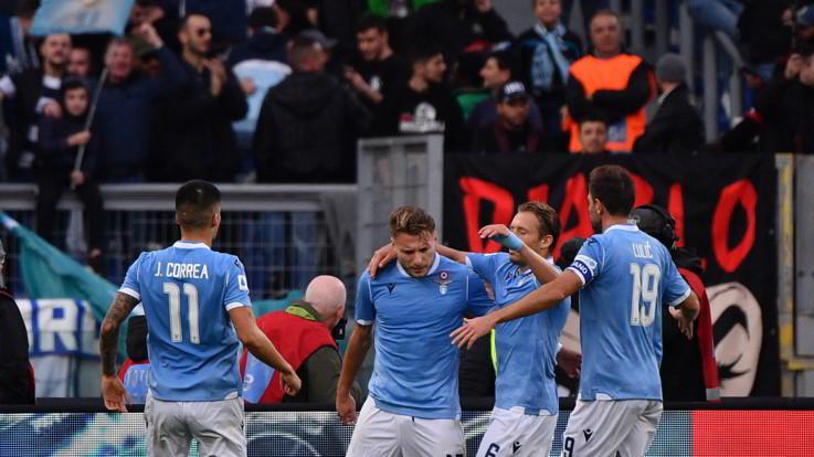 Serie A, la Lazio vola con Immobile e Luis Alberto. Udinese ko