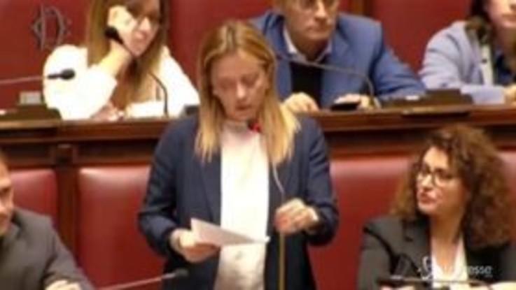 """Mes, Meloni attacca Conte: """"Ha smentito il suo governo"""""""