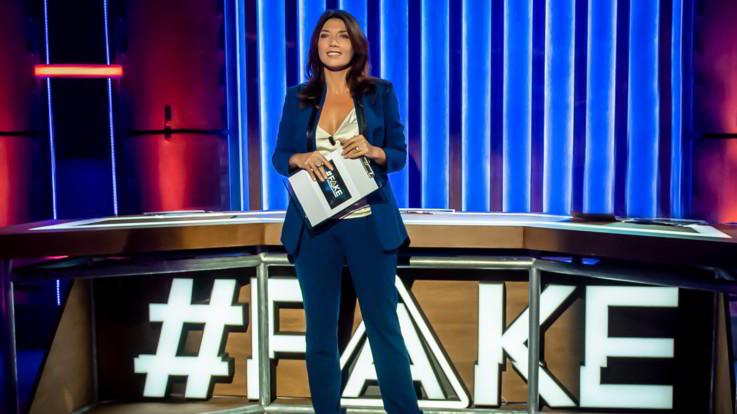 Nove, mercoledì Nicola Porro ed Enrico Bertolino ospiti di Valentina Petrini a 'Fake'