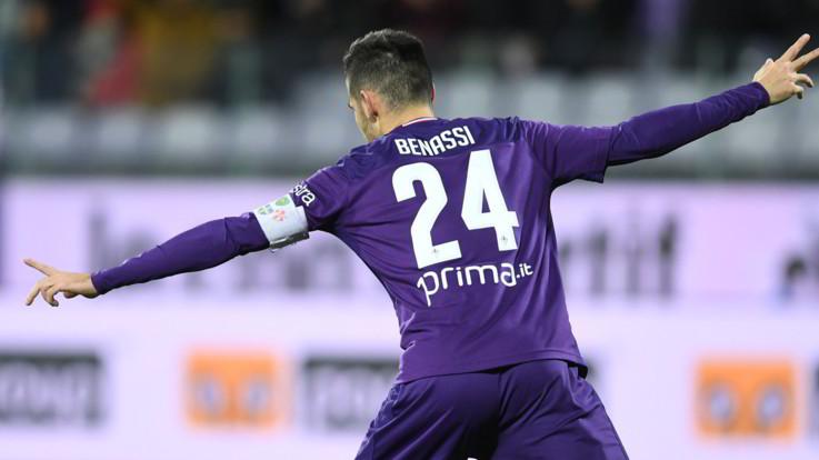 Coppa Italia, doppio Benassi trascina Fiorentina agli ottavi: Cittadella ko