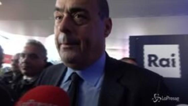 """Zingaretti: """"C'è grande bisogno di libertà intellettuale, sostegno a librerie indipendenti"""""""