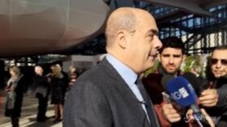 """Unicredit, Zingaretti: """"Notizie inaccettabili"""""""