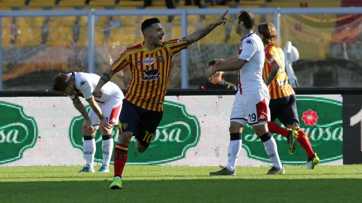 Calcio, Serie A: Lecce-Genoa 2-2 finale