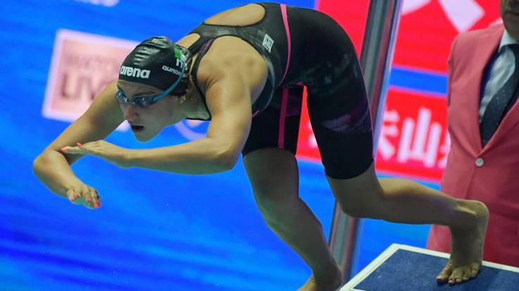 Nuoto, Europei vasca corta: Quadarella oro nei 400 sl donne