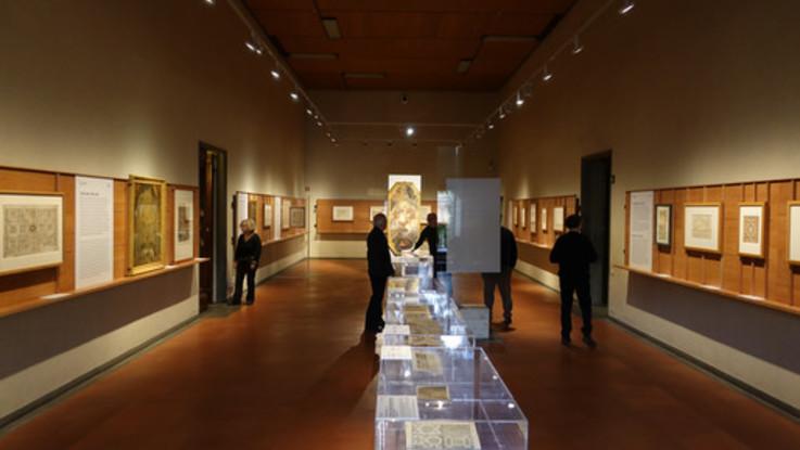 Inaugurata agli Uffizi la mostra 'I cieli in una stanza'