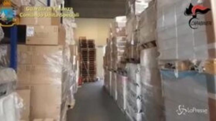 Sequestrati 2,1 milioni di sacchetti plastica illegali in tutta Italia
