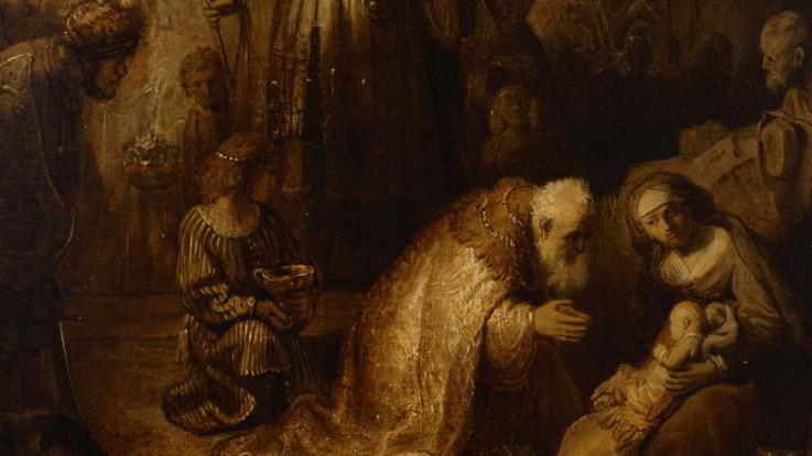 Un Rembrandt dall'Ermitage: a Parma 'L'Adorazione dei Magi'
