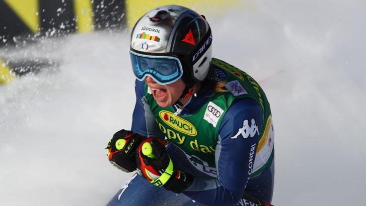 Sci, la nazionale femminile in allenamento sulle piste del Colle del Sestriere