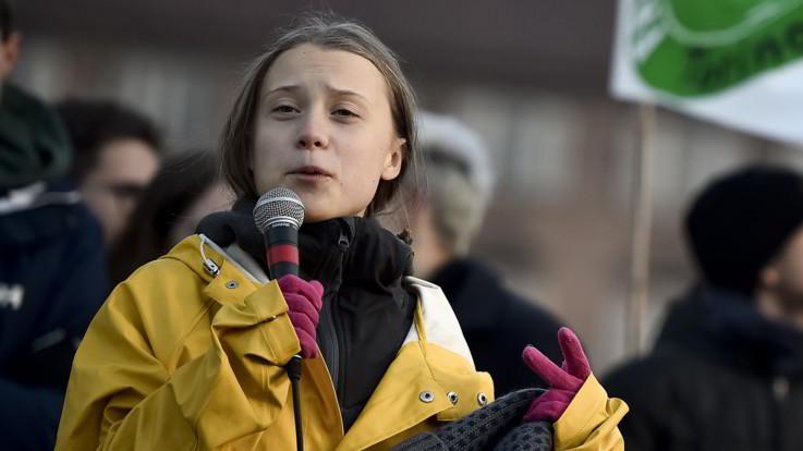 """Greta Thunberg a Torino: """"Felice di essere qui. 2020 anno dell'azione"""""""