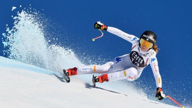 Sci, SuperG: doppietta azzurra a St.Moritz: Goggia davanti a Brignone