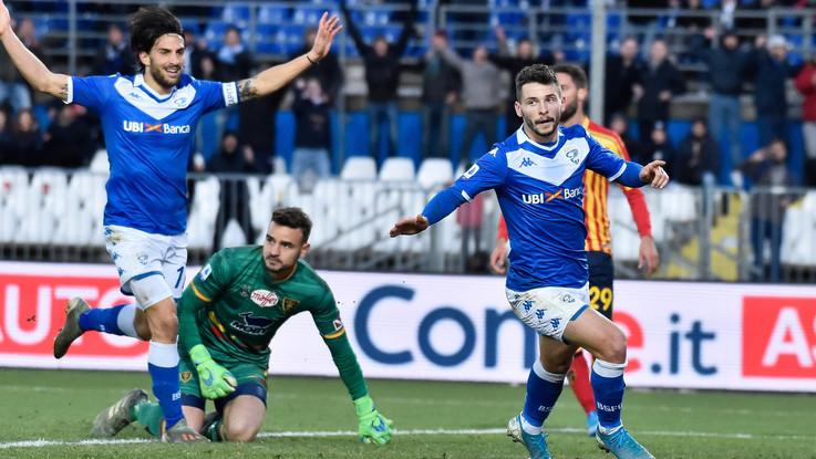 Serie A: il Brescia travolge il Lecce, al Rigamonti finisce 3-0
