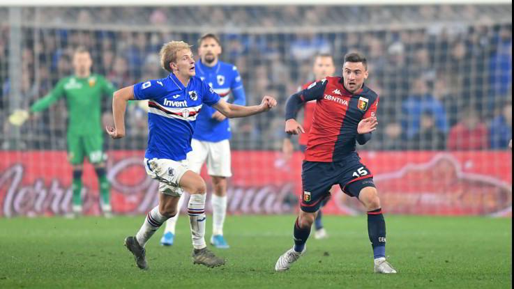 Il derby di Genova va alla Sampdoria