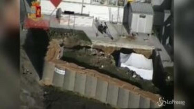 Disinnesco bomba a Brindisi, gli artificieri al lavoro