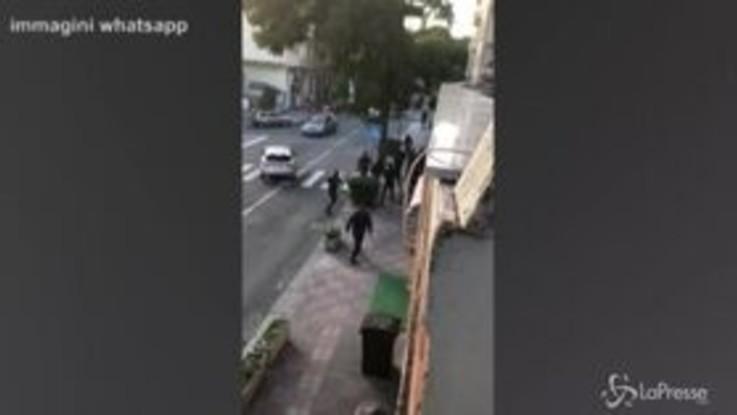 Cagliari-Lazio, i violenti scontri tra ultrà prima del match