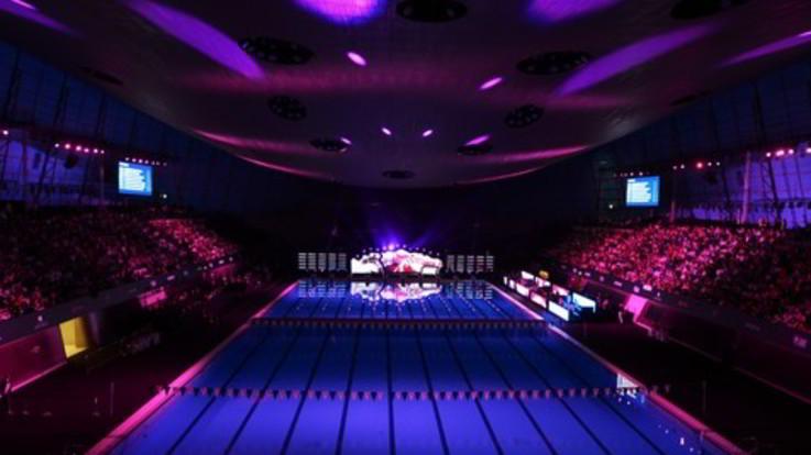 Isl: temporanea ed ecosostenibile, Myrtha 'firma' piscina Las Vegas
