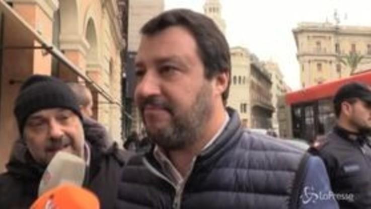 """Salvini a Conte: """"In calo il mio consenso? Lo aspetto per una passeggiata a Roma"""""""