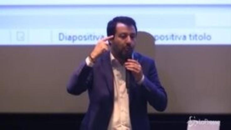 """Salvini: """"Sono per la cancellazione del codice degli appalti"""""""