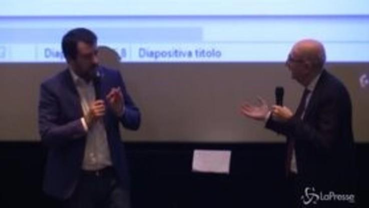 """Giustizia, Salvini: """"In un Paese normale ci sarebbe la separazione delle carriere"""""""
