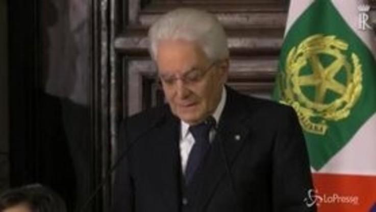 """Mattarella invita ad abbassare i toni: """"Democrazia richiede rispetto reciproco"""""""
