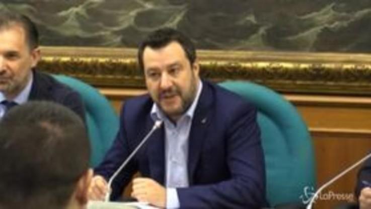 """Cannabis, Salvini: """"Se pensano a decreto-spazzatura andremo al Quirinale"""""""