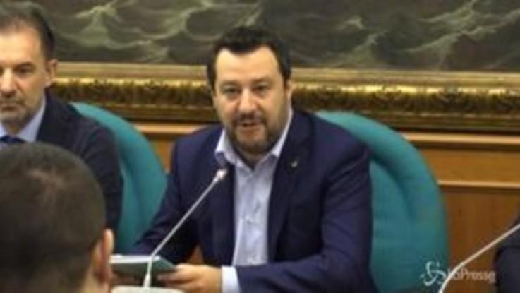 """Caso Gregoretti, Salvini: """"Voglio vedere in faccia chi cambia idea per la poltrona"""""""