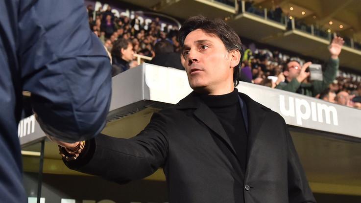 """Fiorentina, Montella: """"Roma formidabile. Prima spero di mangiare il panettore"""""""