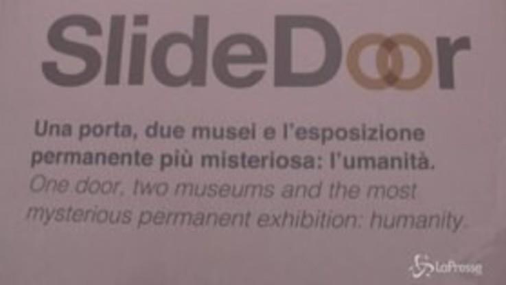 Napoli e Roma più vicine con Slidedoor, una porta virtuale che unisce il Mann con Palazzo Merulana