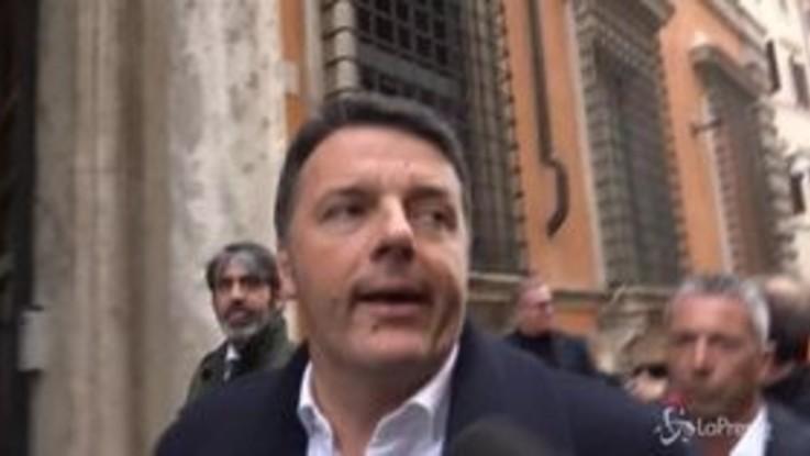 """Taglio parlamentari, Matteo Renzi: """"Il referendum non cambia niente"""""""