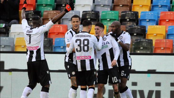 Serie A, Udinese-Cagliari 2-1