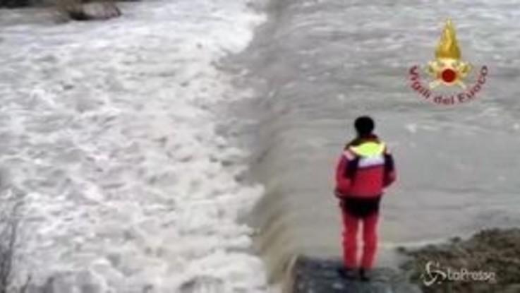 Firenze, ritrovato corpo del motociclista disperso in un torrente