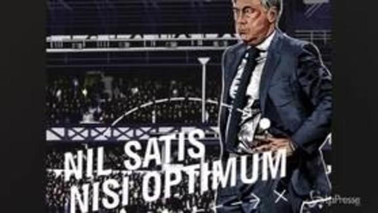 Carlo Ancelotti nuovo tecnico dell'Everton