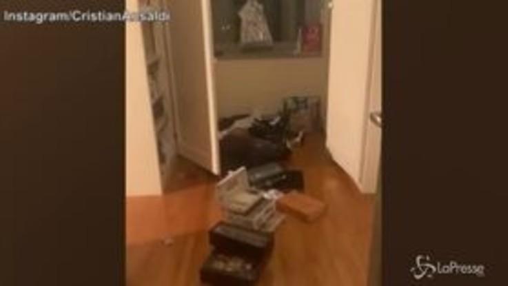 Calcio, Torino: furto in casa Ansaldi, il giocatore mostra il suo appartamento dopo il passaggio dei ladri