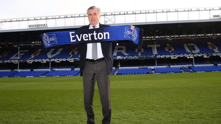 """Ancelotti: """"Voglio portare l'Everton in alto ma servirà pazienza"""""""