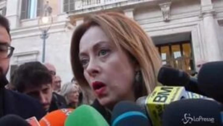 """Manovra, Giorgia Meloni: """"Scandalosa nel metodo e nel merito"""""""
