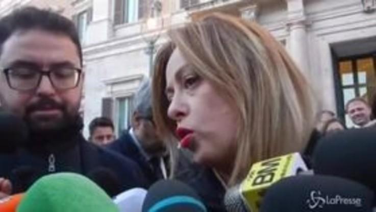 """Governo, Giorgia Meloni: """"Cadrà per la paura di perdere i consensi"""""""