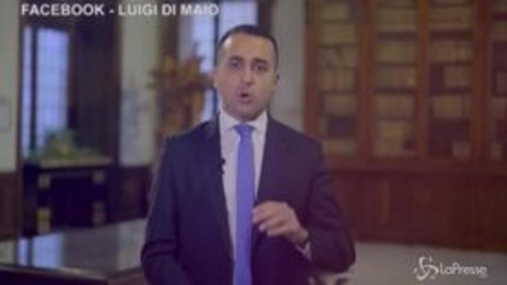 """Di Maio: """"Il reddito di cittadinanza aiuta tanta gente"""""""